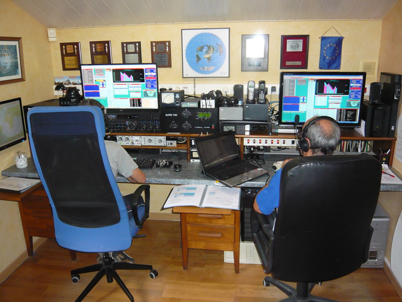 TM0HQ 2014 - Station 40m CW @ F2DX
