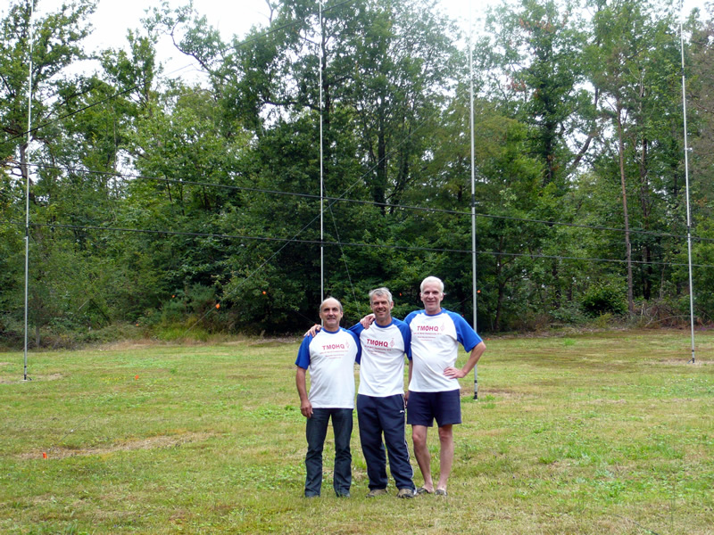 TM0HQ 2014 - Team et 4square 40m CW @ F2DX