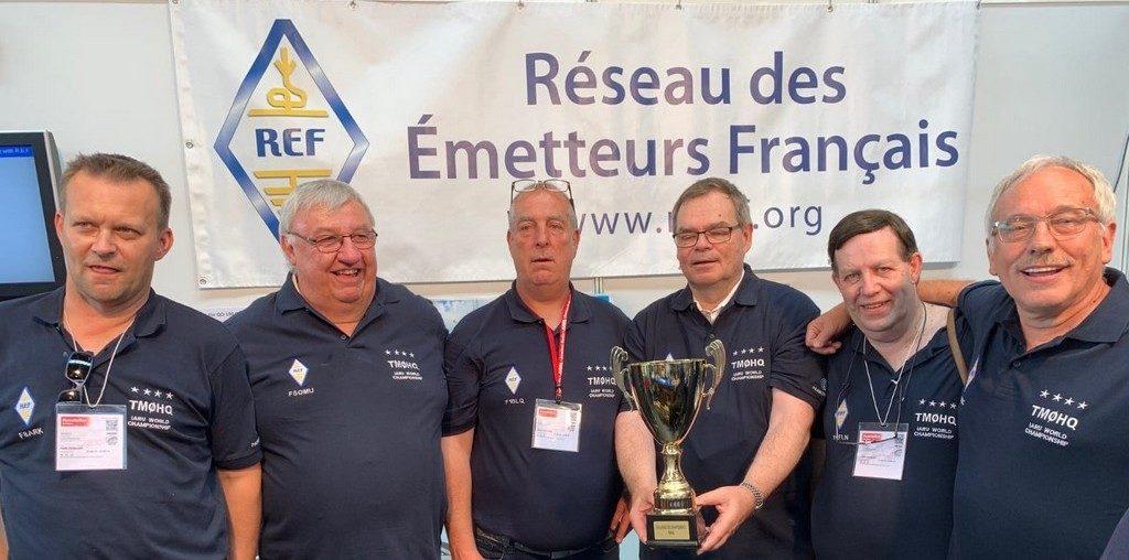 Fred F8ARK, Alain F5OMU, Joel F1BLQ, Jean Louis F5DJL, Michel F5FLN, Noel F6BGC